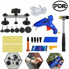 PDR Tool Kit Paintless Dent Removal Bridge Hammer Body Repair Set+Air Pump Wedge