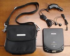 Philips Black Vintage Retro Personal CD Player AZ 6837/05 WALKMAN