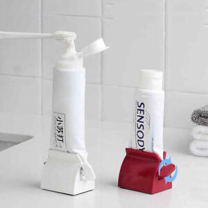 Easy Squeeze Toothpaste Holder Roller Toothpaste Clip Facial Cleanser Cream Acc