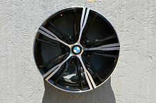 Set of 4 Wheels 18 inch Black Machined Rims fits 5x120 ET30 BMW 435 BASE MODEL