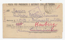 Q930-II WW-GERMANY-P.O.W.FROM CASALE M.TO CAMPO 367