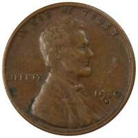 1930 D 1c Lincoln Wheat Cent Penny US Coin VF Very Fine