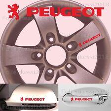 Peugeot 6 Aufkleber Türgriff Felge 100mm 206 207 306 307 308 406 407  P005