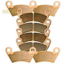 F+R Sintered Brake Pads 2010-2013 2011 2012 Polaris 800 Ranger RZR-4 Severe Duty