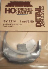 Detail Associates HO #2214 Passenger Pilot Cab Unit Style (Light Cast Metal)