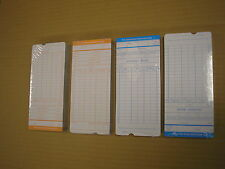 200pcs weekly Monthly Time Clock Cards Attendance Payroll Recorder Timecard