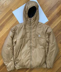 Nike ACG Primaloft Down Zip Hooded Jacket Sz M Insulated