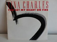TINA CHARLES You set my heart on fire 14569