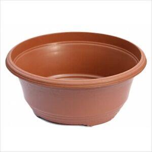 1 X  Largest Bulb Bowls - 35cm diameter. Teku T35 Terracotta Colour.