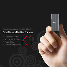FiiO K1 Portable Headphone Amplifier AMP & DAC PCM Audio 24bit 96kHz