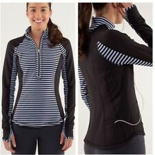 Lululemon Run: U-Turn Pullover, Reversible, Polar Haze (Violet) Size 6, EUC