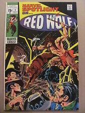 Marvel Spotlight #1 Marvel Comics 1971 Series Origin Red Wolf Neal Adams 8.5 VF+