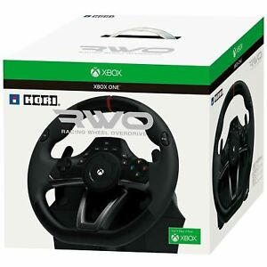 XBOX ONE RACING WHEEL HORI RWO OVERDRIVE STEERING WHEEL + PEDALS * BOXED