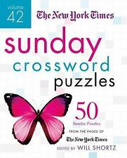 New York Times Sunday Crossword Puzzles Volume 42 : 50 Sunday Puzzles from th...