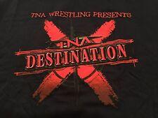 TNA 2008 Destination X T-Shirt XL Wrestling AJ Styles Samoa Joe NXT WWE