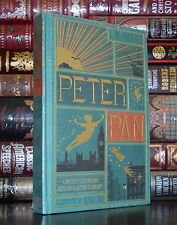 Peter Pan by J.M. Barrie Illustrated New Sealed Collectible Cloth Bound Edition