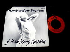 "SIOUXSIE AND THE BANSHEES/HONG KONG GARDEN/CUT CORNER/FRENCH PRESS 7"" SP"