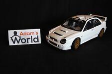 AutoArt Subaru Impreza S7 WRC '01 1:18 plain body version white (JvdM)