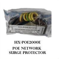 1pcs Ethernet Surge Protector Thunder Arrester Thunder POE/POE+Gigabit CAT5 Cat6