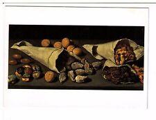 Postcard: Still Life with Dried Fruit - Francisco de Burgos Mantilla