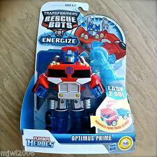 Transformers RESCUE BOTS OPTIMUS PRIME Energize PLAYSKOOL HEROES Hasbro truck