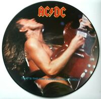 """EX/EX AC/DC THAT'S THE WAY I WANNA ROCK N ROLL 12"""" VINYL PICTURE PIC DISC thats"""