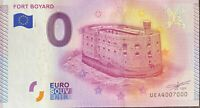 BILLET 0  EURO FORT BOYARD FRANCE 2015  NUMERO 7000