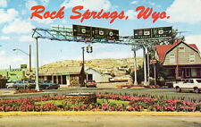postcard USA  Wyoming Rock Springs  unposted