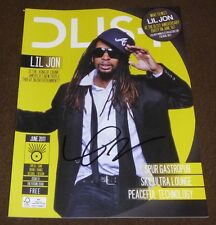 LIL JON SIGNED D LIST MAGAZINE JUNE 2011 TURN DOWN FOR WHAT CRUNK