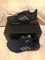 Men's adidas UltraBOOST 20 Running Shoes Collegiate Navy EG0706