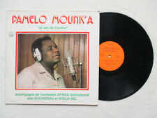 """LP 33T PAMELO MOUNK'A """"20 ans de carrière"""" GENIDIA 106 FRANCE §"""