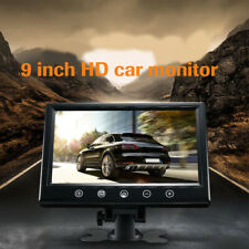 9inch TFT LCD Car Rearview Color Monitor for VCD DVD GPS Camera w/LED Backlight