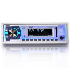 Pyle PLMRB29W Bluetooth MP3/USB/Aux/SD Card Stereo Radio Receiver w/ Remote