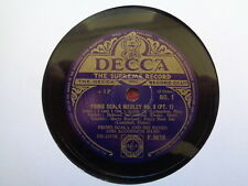 PRIMO SCALA AND HIS BANJO AND ACCORDION BAND - Medley No 8 78 rpm disc