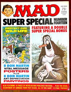 MAD MAGAZINE Special #14 - Very Fine (8.0) - Attached Bonus Insert!!