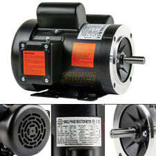15 Hp Electric Motor Single Phase 56c Frame 3450 Rpm Tefc 115 230v C Face