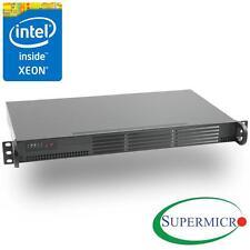 Supermicro Xeon D-1521 Mini 1U Rackmount, Dual Intel 10GbE, IPMI, RS-SMX104C2N