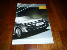 Opel Astra Prospekt 08/2005