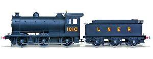 Oxford Rail OR76J27001, 00 Gauge, J27 0-6-0 Tender Locomotive, 1010 LNER black
