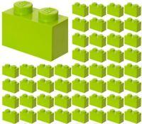 ☀️Lego x50 LIME GREEN 1x2 Bricks blocks Part Pieces Bulk Lot Legos #3004