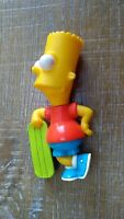 Burger King The Simpsons Collection Bart Simpson with Skateboard Figure Toy