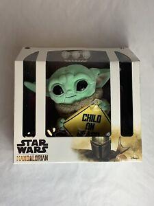 Star Wars The Mandalorian Grogu Baby Yoda The Child On Board Plush Hanging Sign