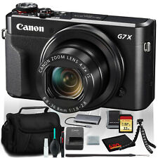Canon PowerShot G7 X Mark II Digital Camera (Intl Model) with 32GB Memory Kit