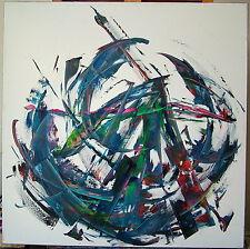 Laszlo Sallay (1968 - ): Abstract composition, Ölbild,