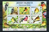 Jersey MiNr. Block 101 postfrisch MNH Vögel (Q11715