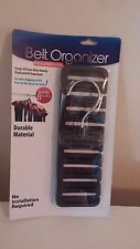 Belt Organizer practical 8 belt holder
