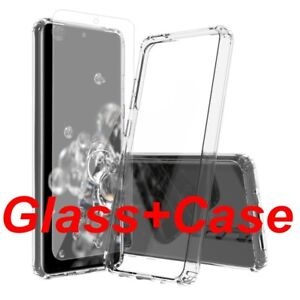 Tempered Glass SCREEN PROTECTOR &CASE COVER For New Samsung Galaxy Mobile Phones