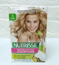 Garnier Nutrisse Nourishing Color Foam 9 Light Blonde Read!