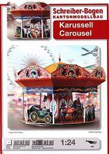 Schreiber-Bogen Kartonmodellbau Karussell