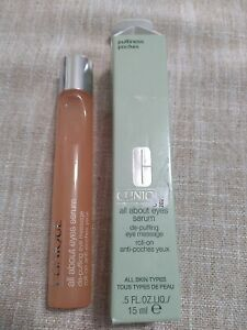 Clinique all about eyes serum .5 FL OZ NEW IN BOX